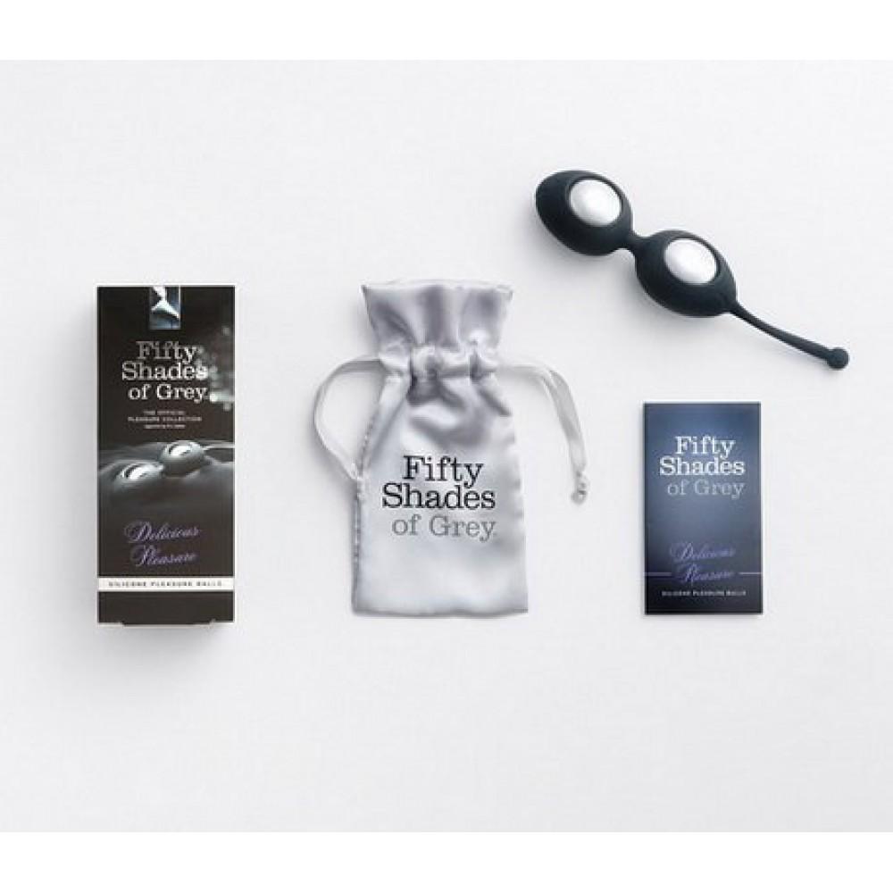 Fifty Shades of Grey - Вагинальные шарики (50 оттенков серого) (20137), фото 2