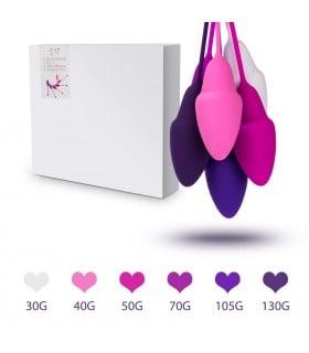 Набор вагинальных шариков тренажёров разного веса - No Taboo