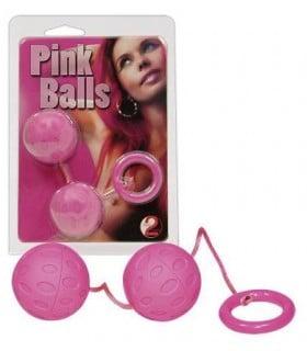 Шарики розовые Pink Balls - No Taboo