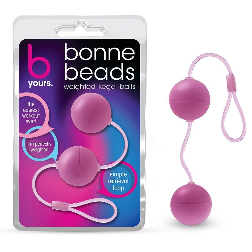 Кульки Вагінальні B YOURS BONNE BEADS PINK (33623)