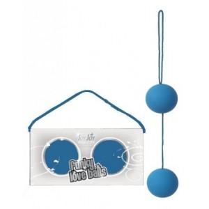 Шелковые шарики голубые (9367), zoom