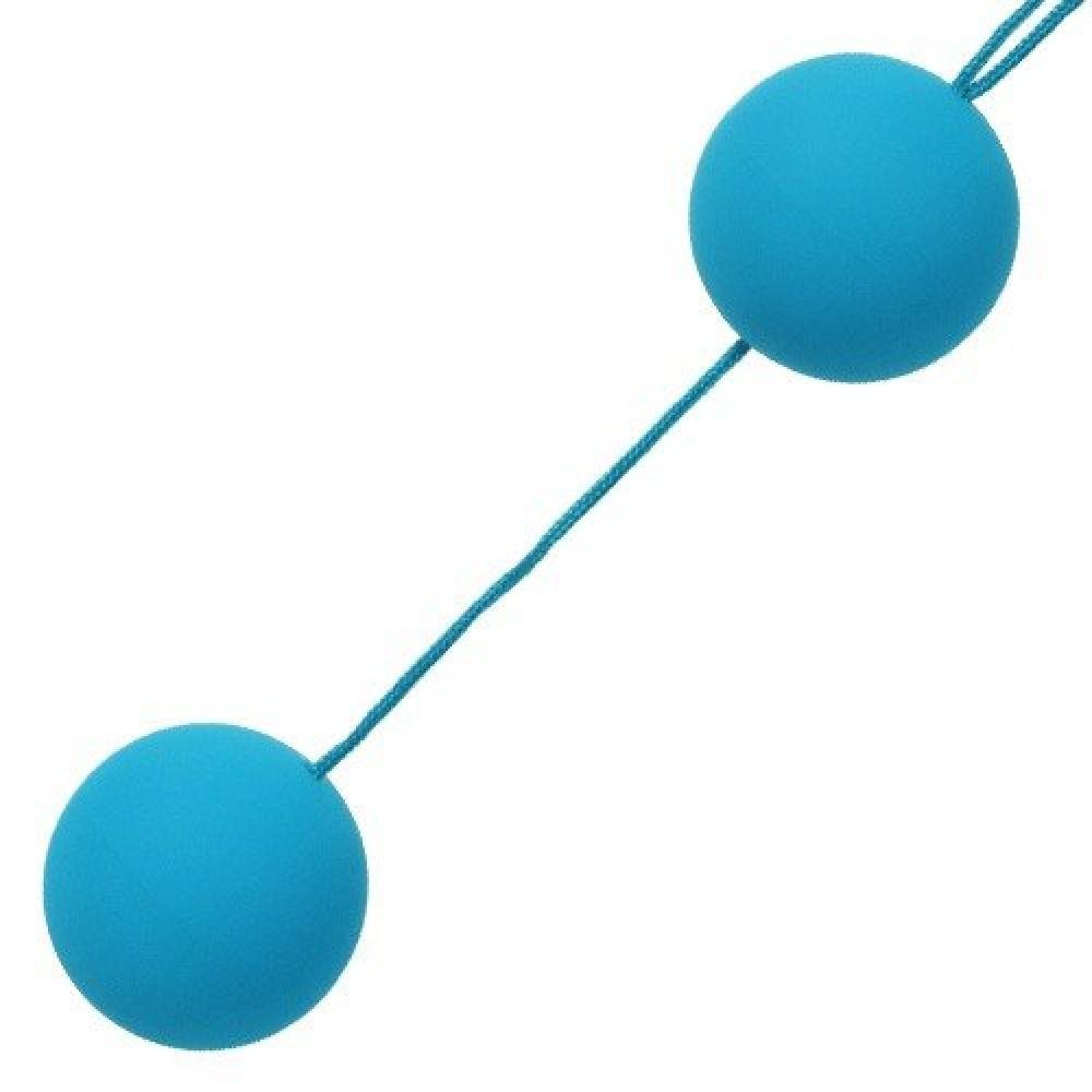 Шелковые шарики голубые (9367), фото 2