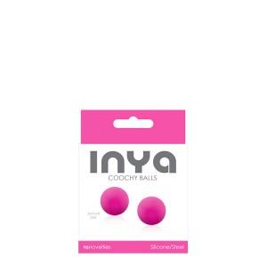 Вагинальные шарики INYA COOCHY BALLS, розовые (33838), zoom