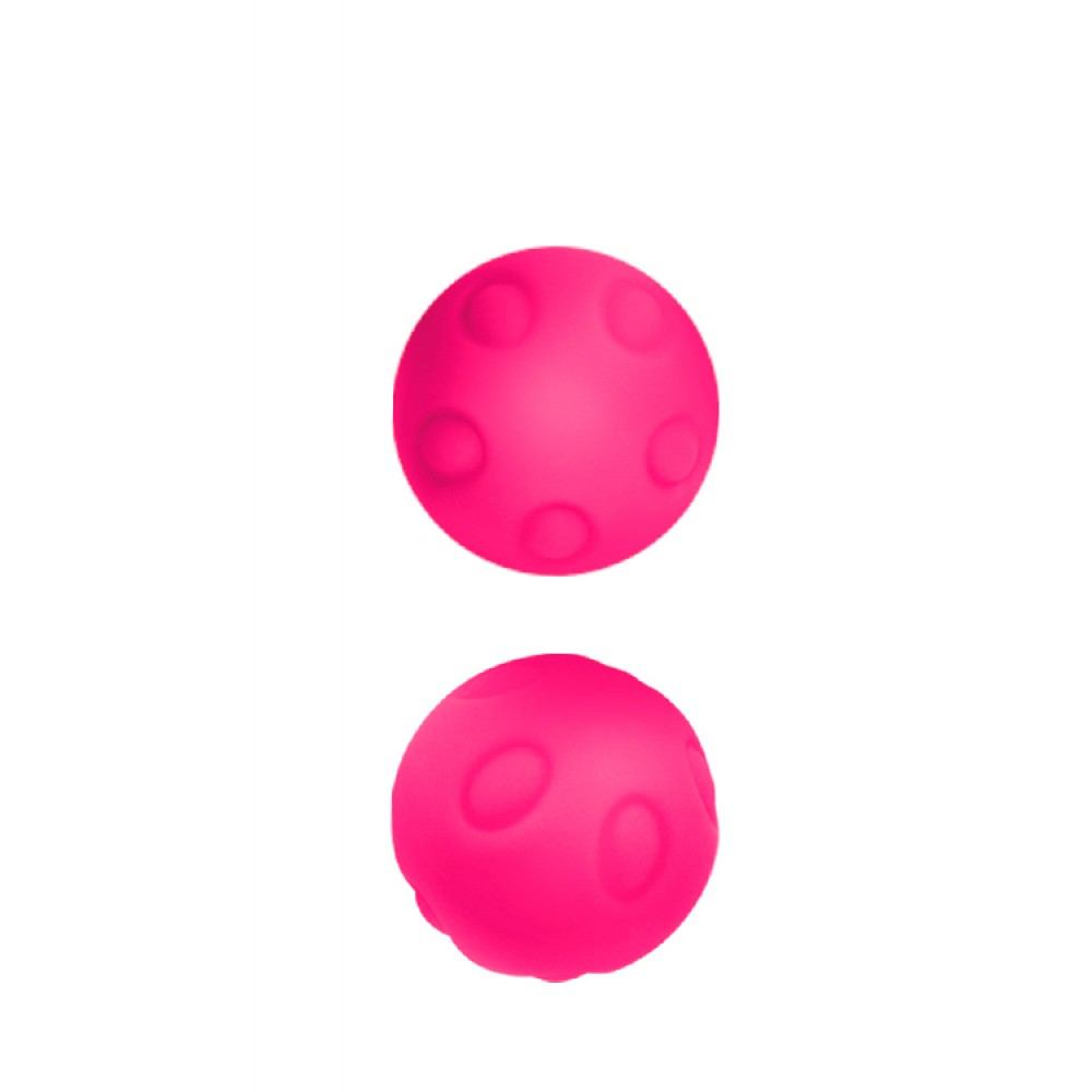 Вагинальные шарики без сцепки, розовые (33839)