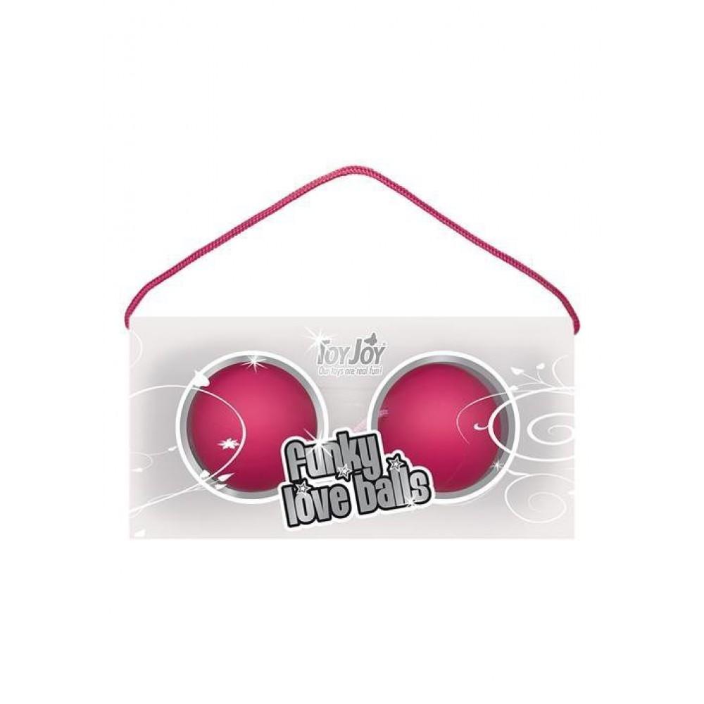 Вагинальные шарики розовые (9365)