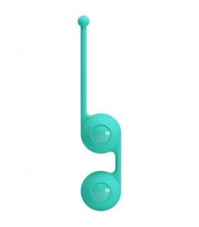 Вагинальный шарики зеленые Kegel BALL - No Taboo
