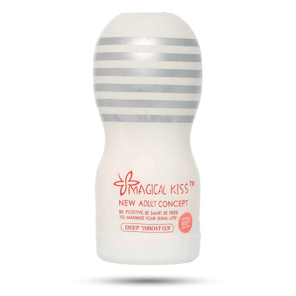 Мастурбатор Magical Kiss Deep Throat Cup, в колбе (33578)