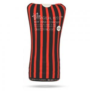 Мастурбатор в колбе черного цвета Magical Kiss Soft Tube Cup (33581), zoom