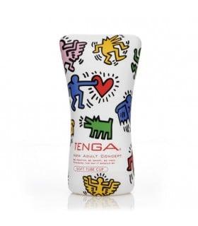 Мастурбатор Tenga Keith Haring - No Taboo
