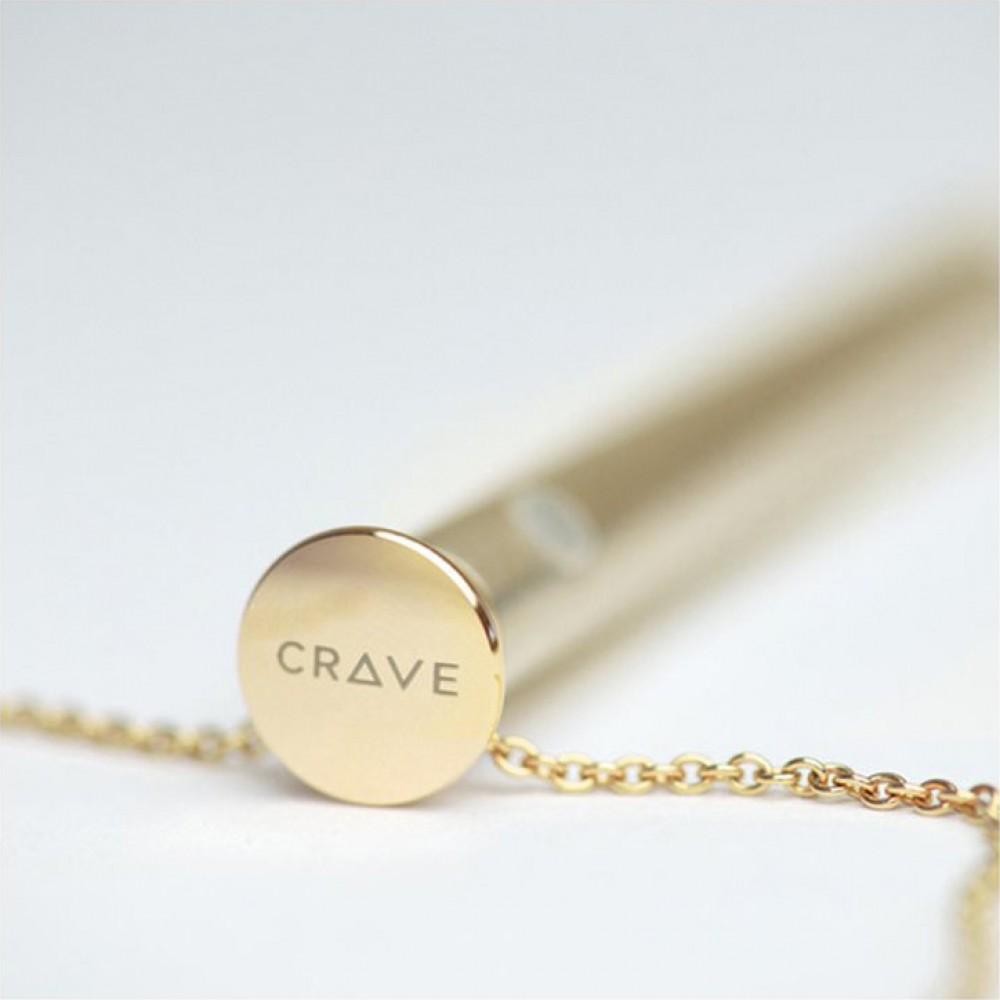 Ожерелье Crave Vesper Vibrator Ketting Goud (34562), фото 2 — секс шоп Украина, NO TABOO