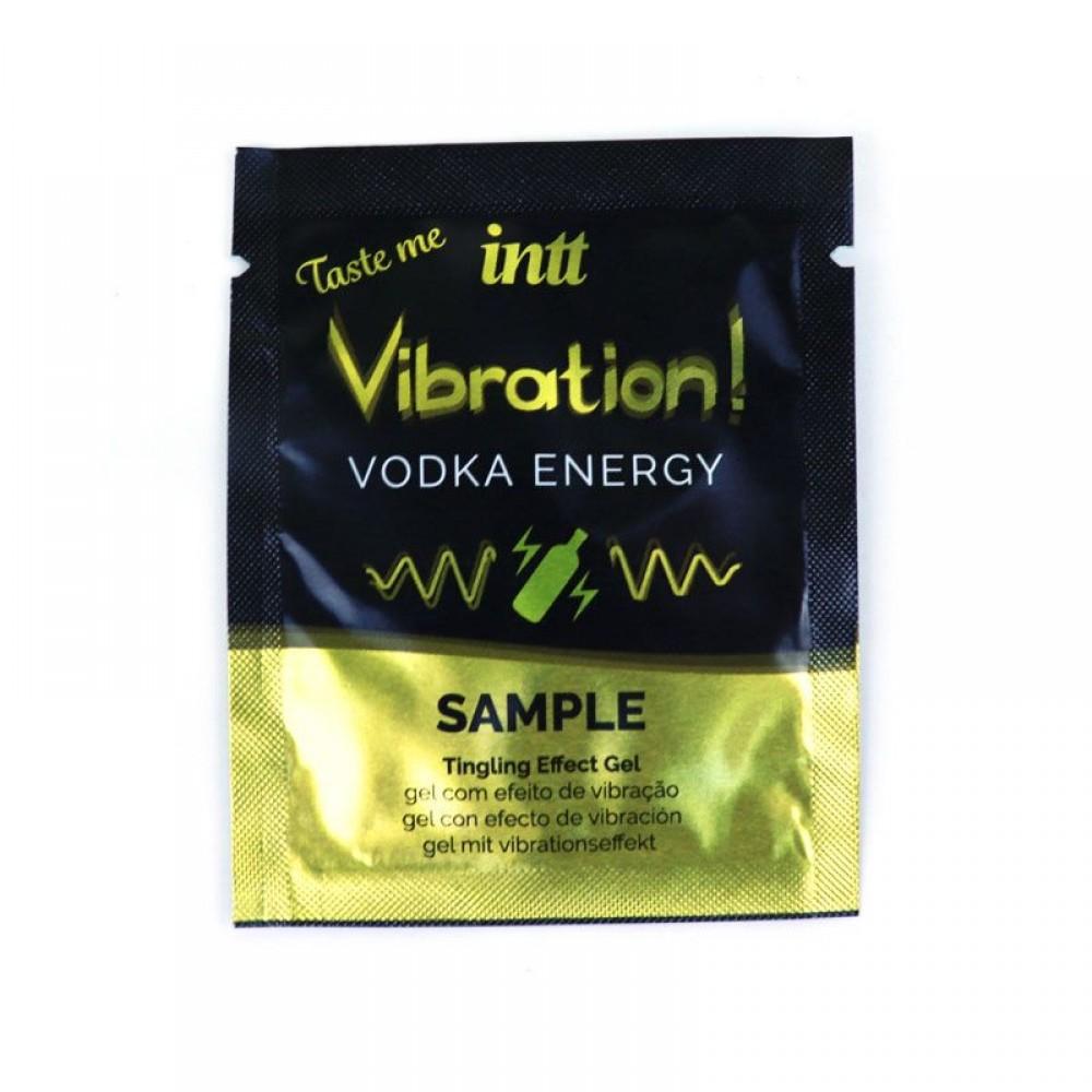ПРОБНИК Жидкий вибратор для двоих Vibration Vodka Intt, 2 мл (34981), фото 1 — секс шоп Украина, NO TABOO