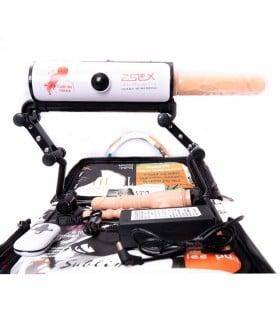 Секс-машина портативная Zslx в сумочке, с 4-мя насадками - No Taboo