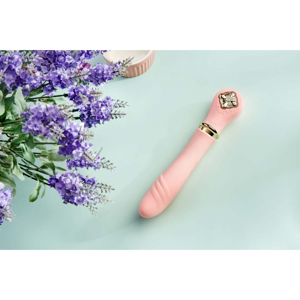 Вибратор-пульсатор с подогревом ZALO DESIRE, розовый (27860), фото 19 — секс шоп Украина, NO TABOO