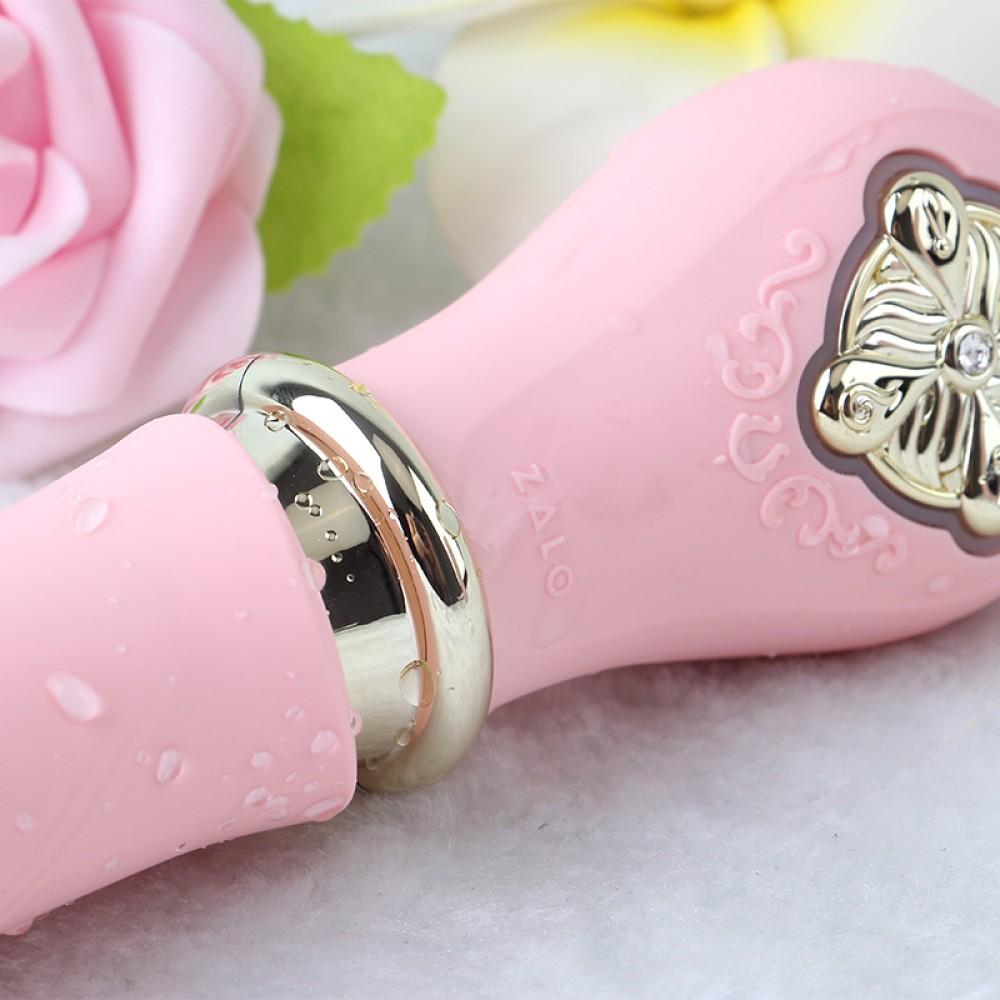 Вибратор-пульсатор с подогревом ZALO DESIRE, розовый (27860), фото 16 — секс шоп Украина, NO TABOO