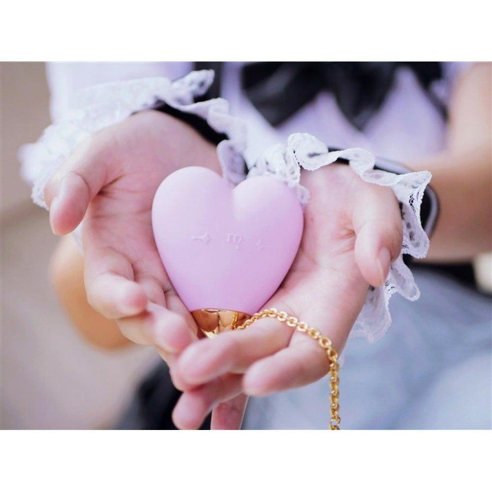 Вибратор для стимуляции клитора в форме сердца Strawberry Pink ZALO Baby Heart (24838), фото 8 — секс шоп Украина, NO TABOO