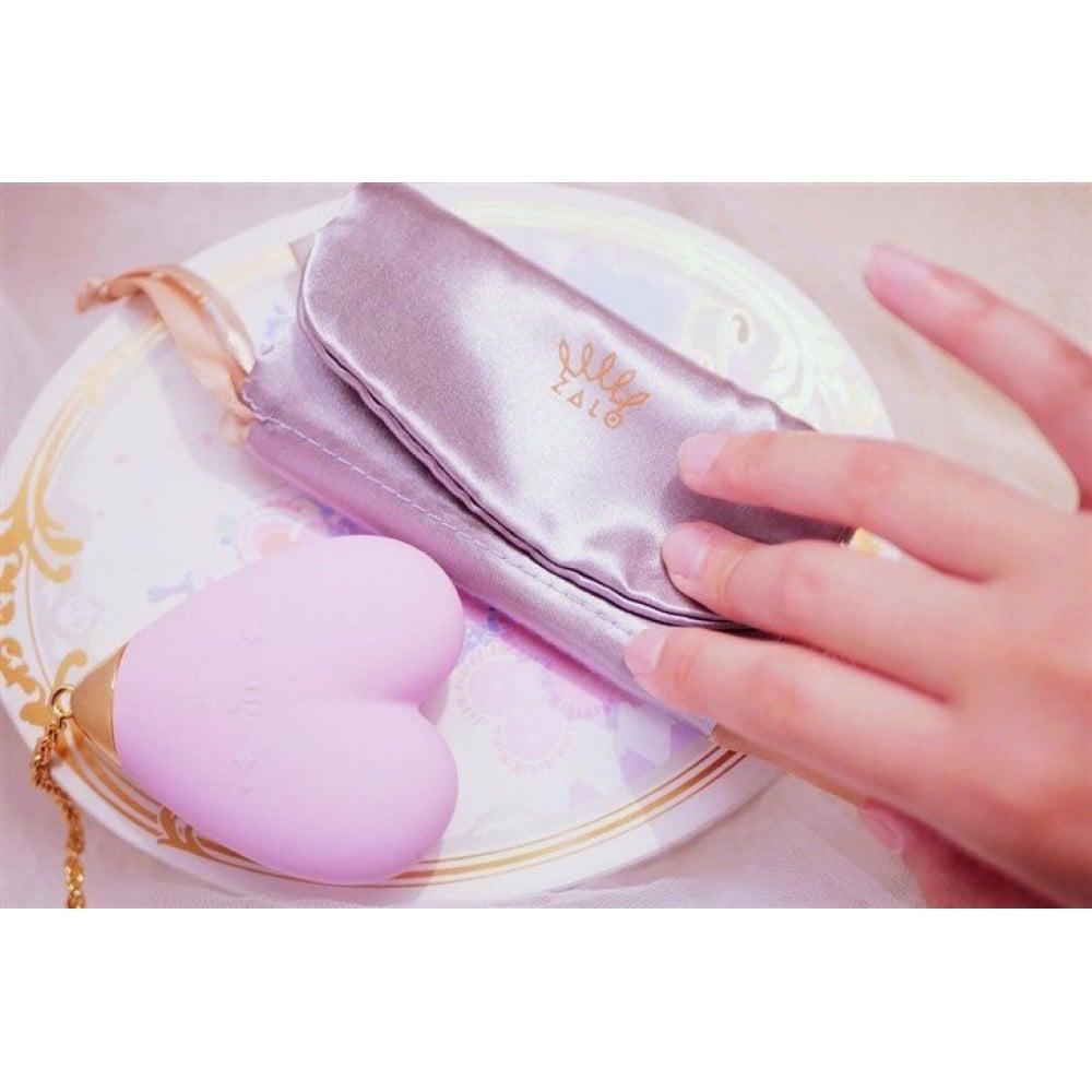 Вибратор для стимуляции клитора в форме сердца Strawberry Pink ZALO Baby Heart (24838), фото 9 — секс шоп Украина, NO TABOO