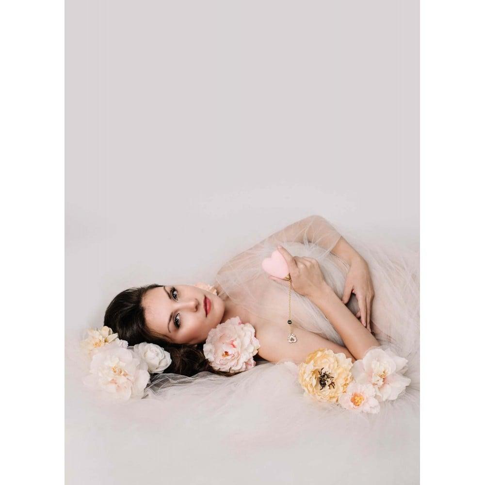 Вибратор для стимуляции клитора в форме сердца Strawberry Pink ZALO Baby Heart (24838), фото 13 — секс шоп Украина, NO TABOO