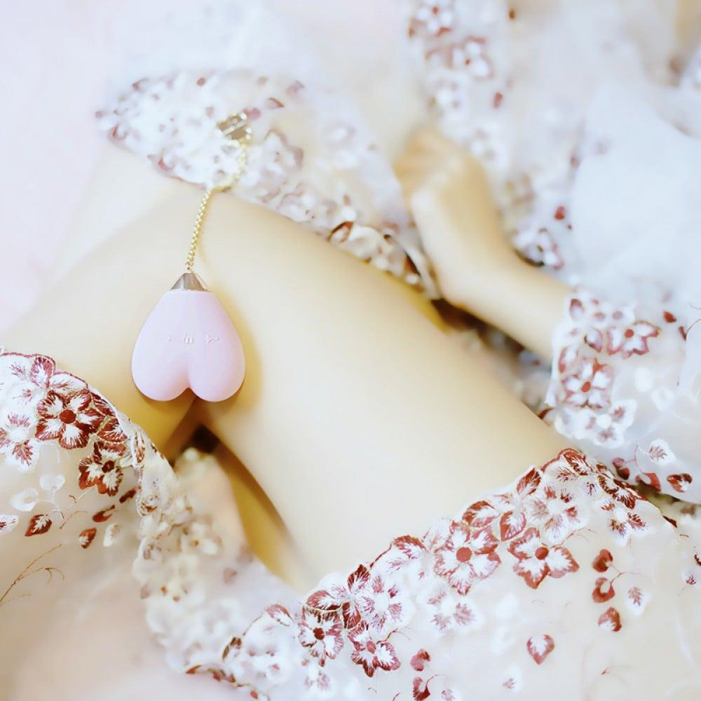 Вибратор для стимуляции клитора в форме сердца Strawberry Pink ZALO Baby Heart (24838), фото 15 — секс шоп Украина, NO TABOO