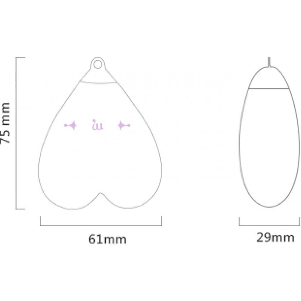 Вибратор для стимуляции клитора в форме сердца Strawberry Pink ZALO Baby Heart (24838), фото 17 — секс шоп Украина, NO TABOO