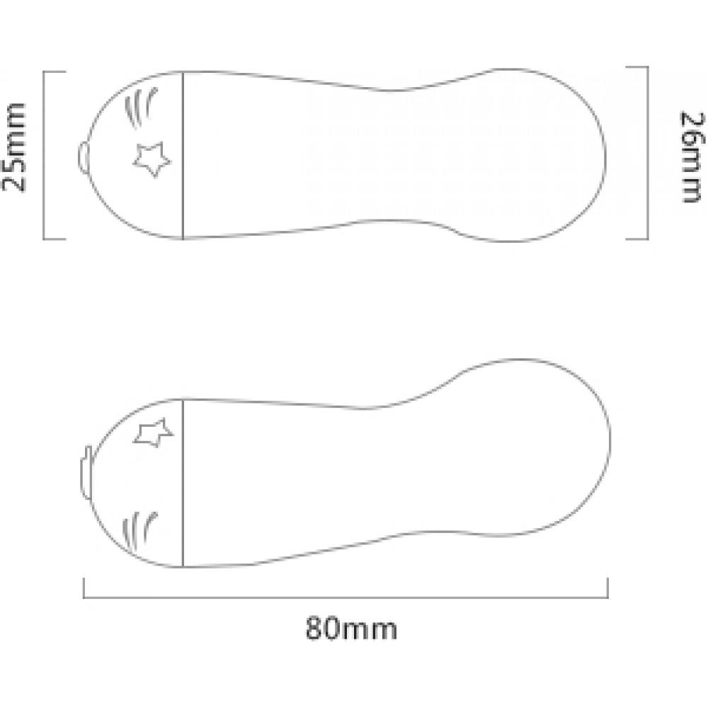 Вибратор пуля стимулятор клитора белый силикон ZALO Baby Star (24837), фото 17