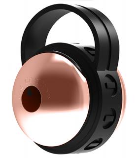Вибратор для клитора ML Creation Cute Bullet, золотисто-черный - No Taboo