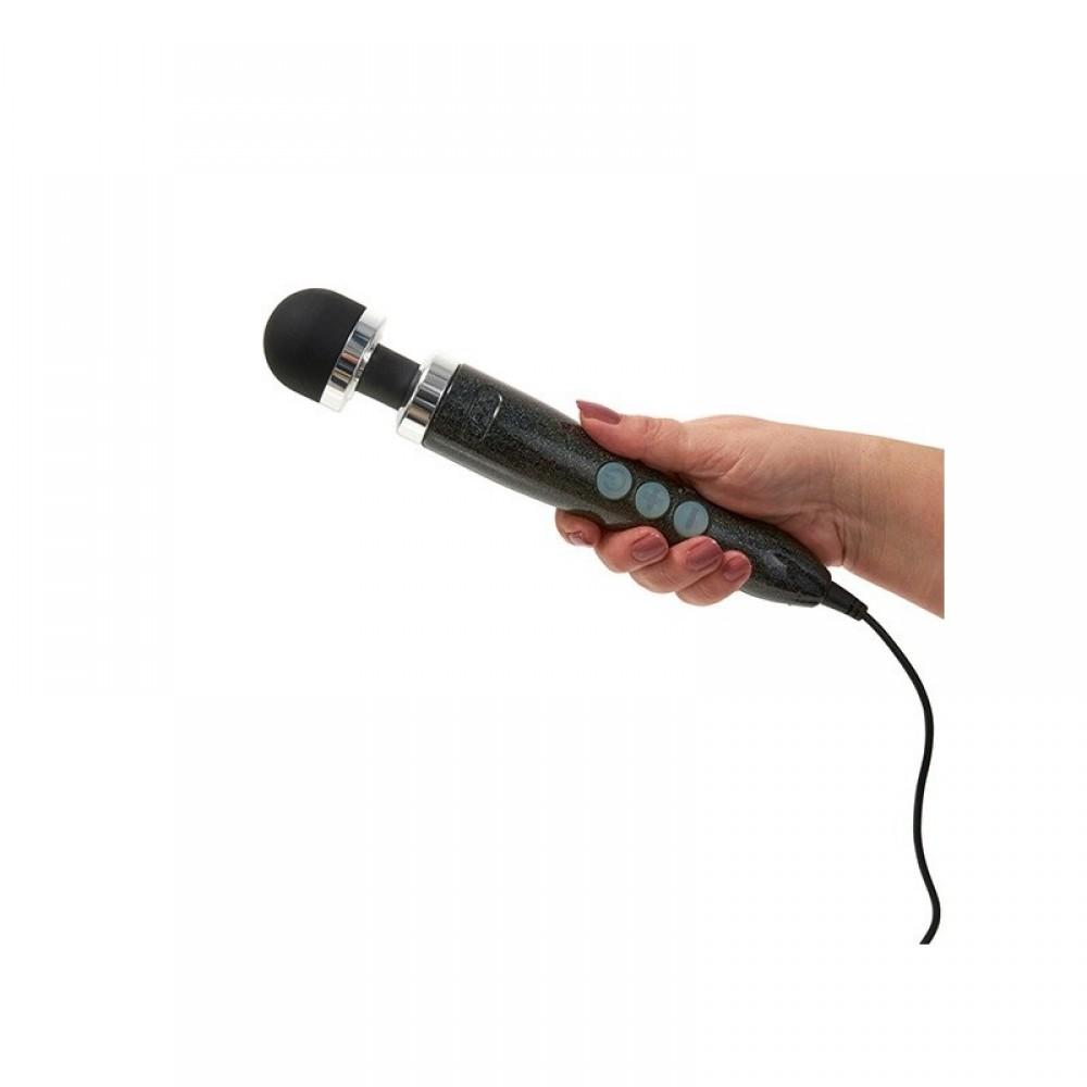 Вибромассажер микрофон DOXY Number 3 Candy Black (34271)