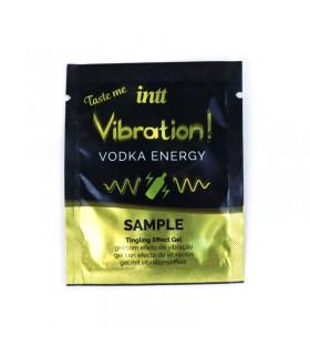 ПРОБНИК Жидкий вибратор для двоих Vibration Vodka Intt, 2 мл - No Taboo