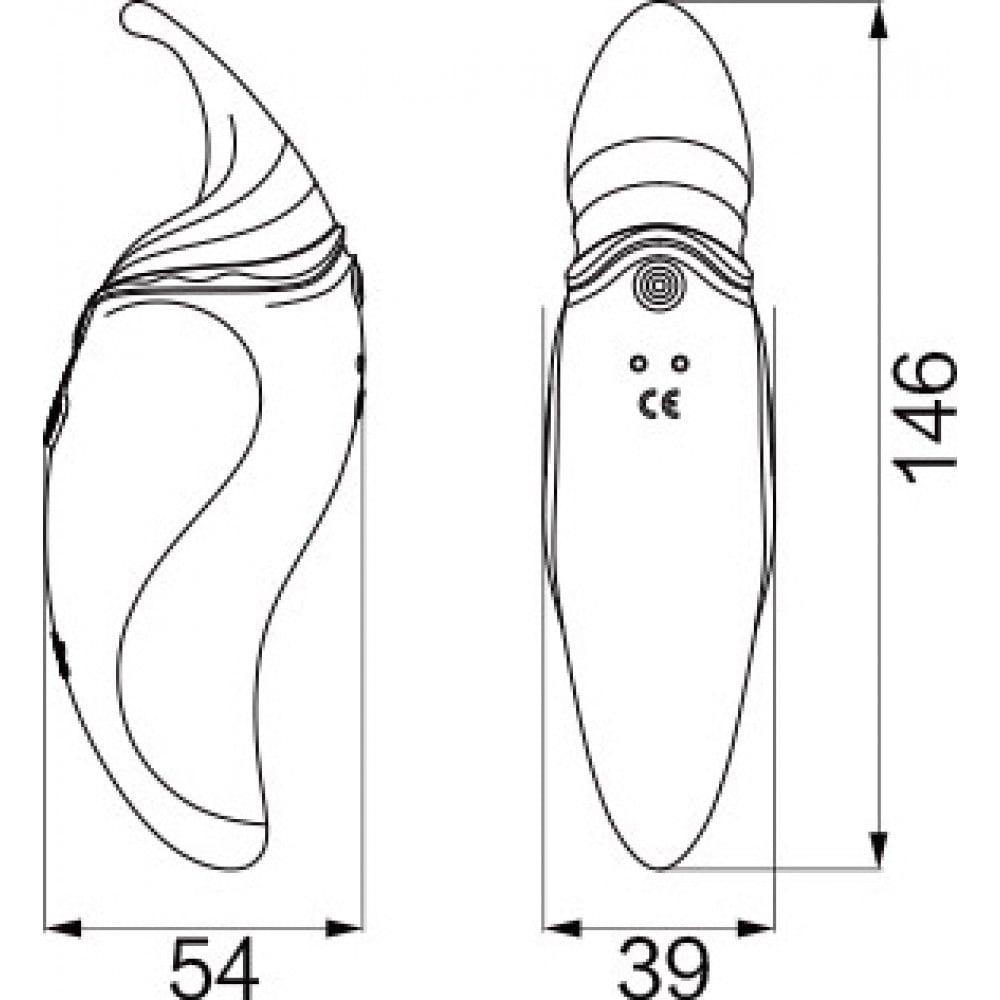 Стимулятор клитора с язычком и вибрацией бордового цвета Zalo Hero (30943), фото 7