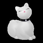 Вибратор кошка I Rub My Kitty WHITE