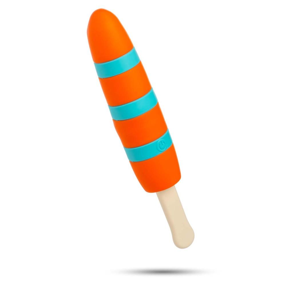 Вибратор мороженое POPSICLE RECHARGEABLE VIBE (33864), фото 1