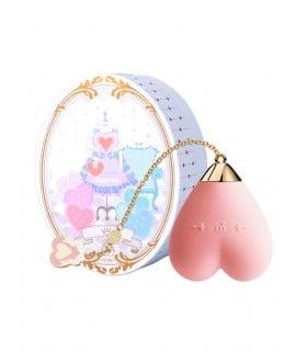 Вибратор для стимуляции клитора в форме сердца Strawberry Pink ZALO Baby Heart - No Taboo