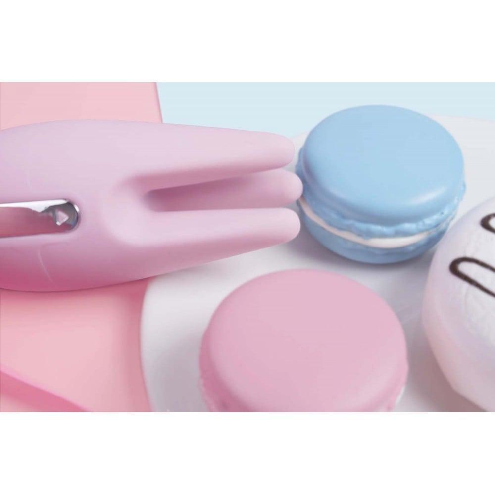 Вибратор для клитора с подвижными 3-мя щупальцам Cookie Svakom, розовый (29477), фото 8