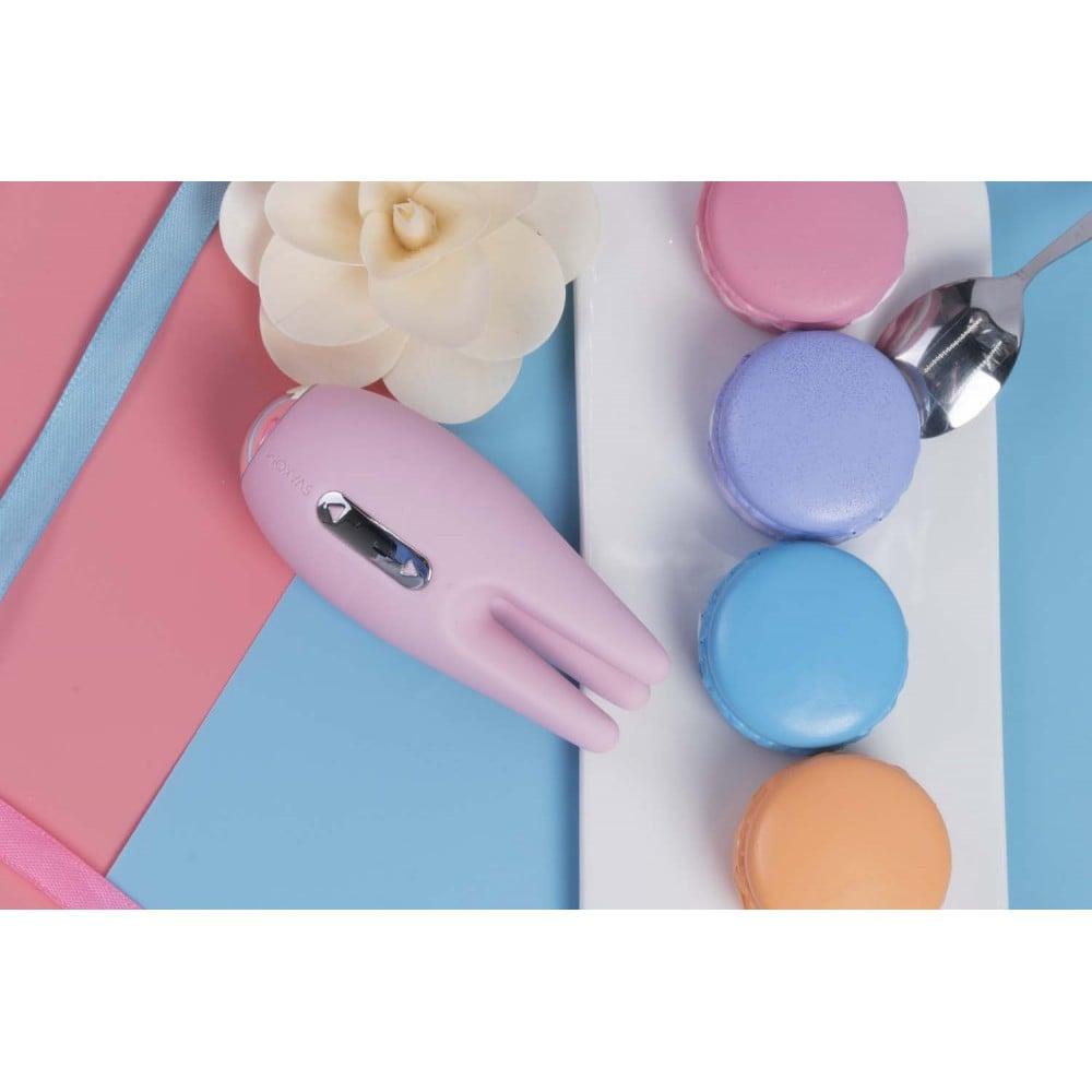 Вибратор для клитора с подвижными 3-мя щупальцам Cookie Svakom, розовый (29477), фото 9