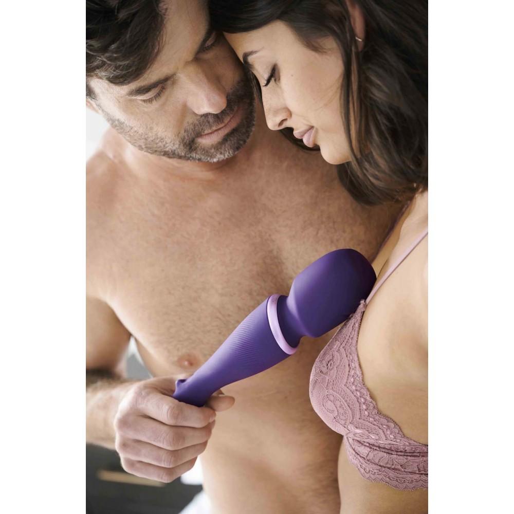 Вибромассажер микрофон Wand by We-Vibe (Вивайб) Purple (36159), фото 18 — секс шоп Украина, NO TABOO