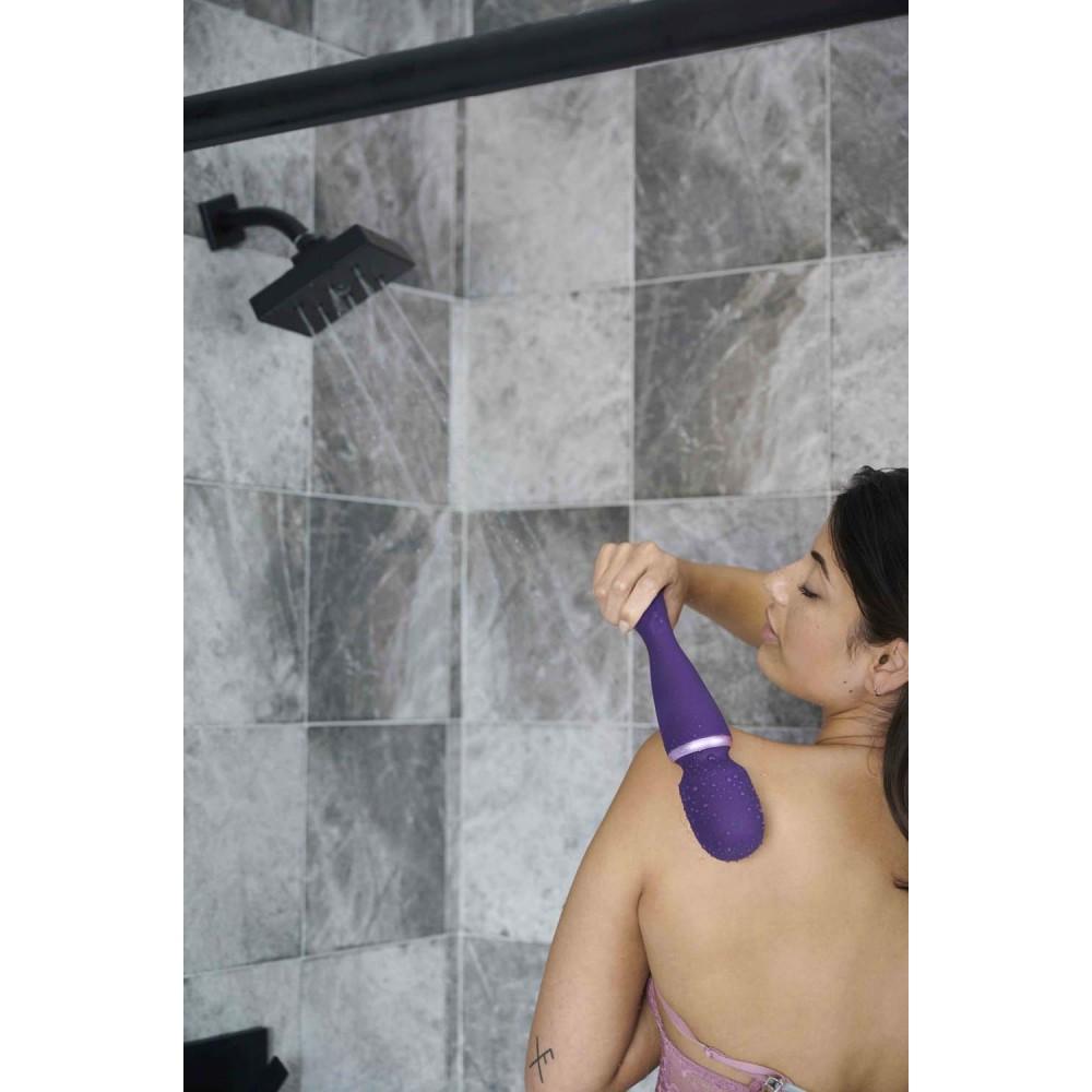 Вибромассажер микрофон Wand by We-Vibe (Вивайб) Purple (36159), фото 22 — секс шоп Украина, NO TABOO