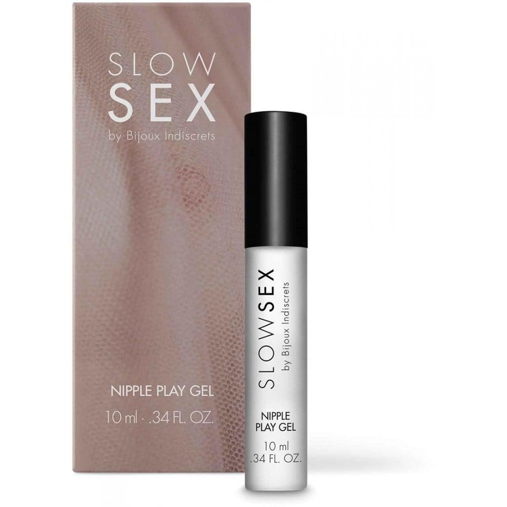 Гель для стимуляции сосков NIPPLE PLAY Slow Sex by Bijoux Indiscrets (34698), фото 1 — секс шоп Украина, NO TABOO