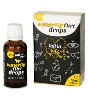 Капли возбуждающие для двоих Butterfly Flirt Drops 30 мл - No Taboo