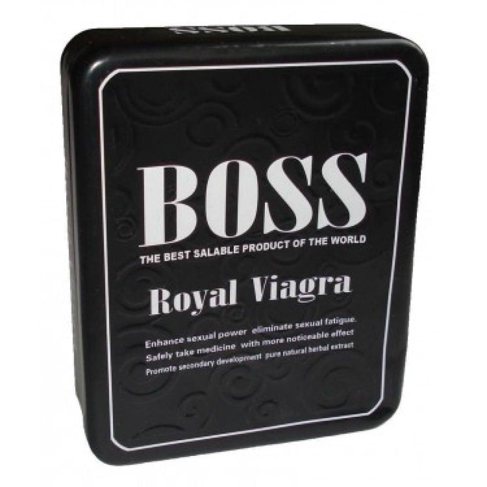 Королевский Boss Royal, таблетки для мужчин Босс Роял - No Taboo