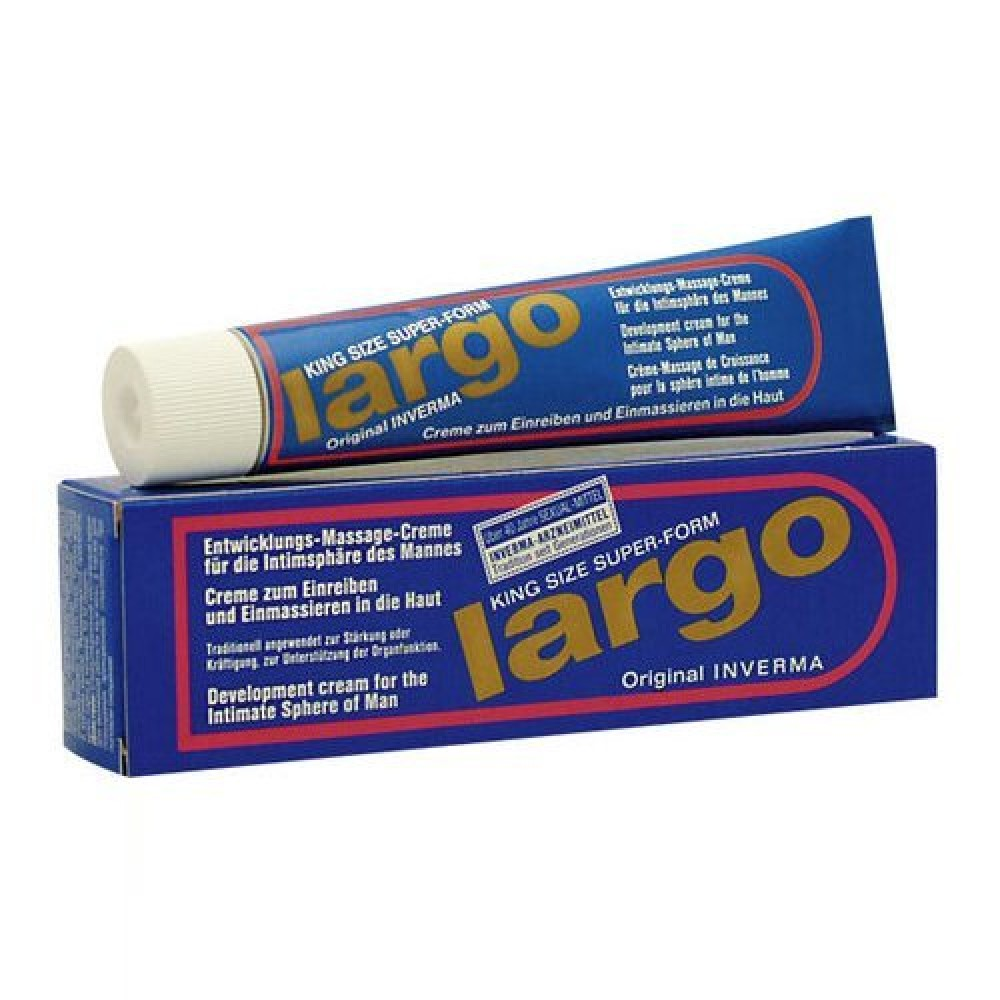 Крем для увеличения и роста члена LARGO, 40 мл - No Taboo