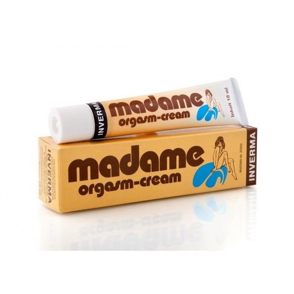 Крем женский для оргазма Madame Orgasm, 18 мл (2614), фото 1 — секс шоп Украина, NO TABOO