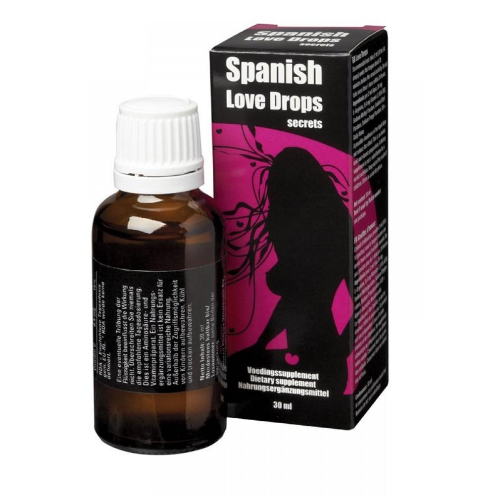 Возбуждающие капли Spanish Love Drops Secrets, 30 мл (25339), фото 1 — секс шоп Украина, NO TABOO