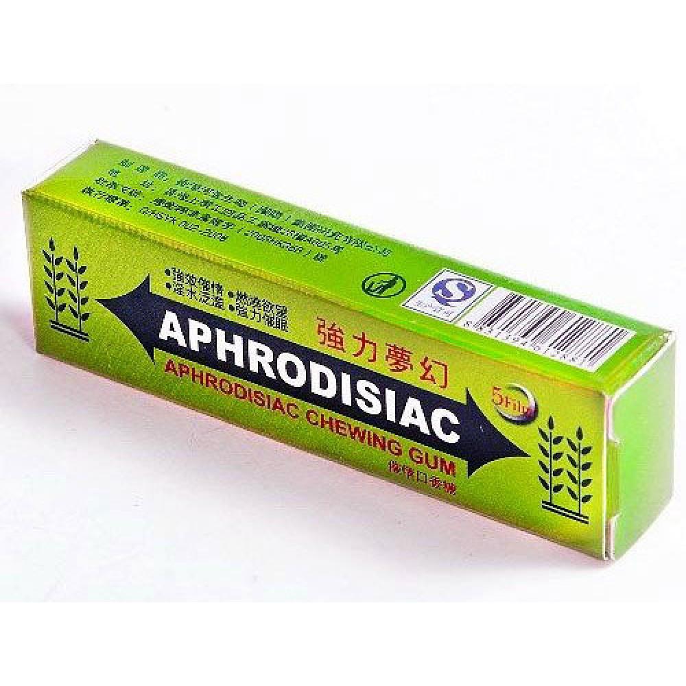Жвачка возбуждающая Аphrodisiac для женщин (32279), фото 1