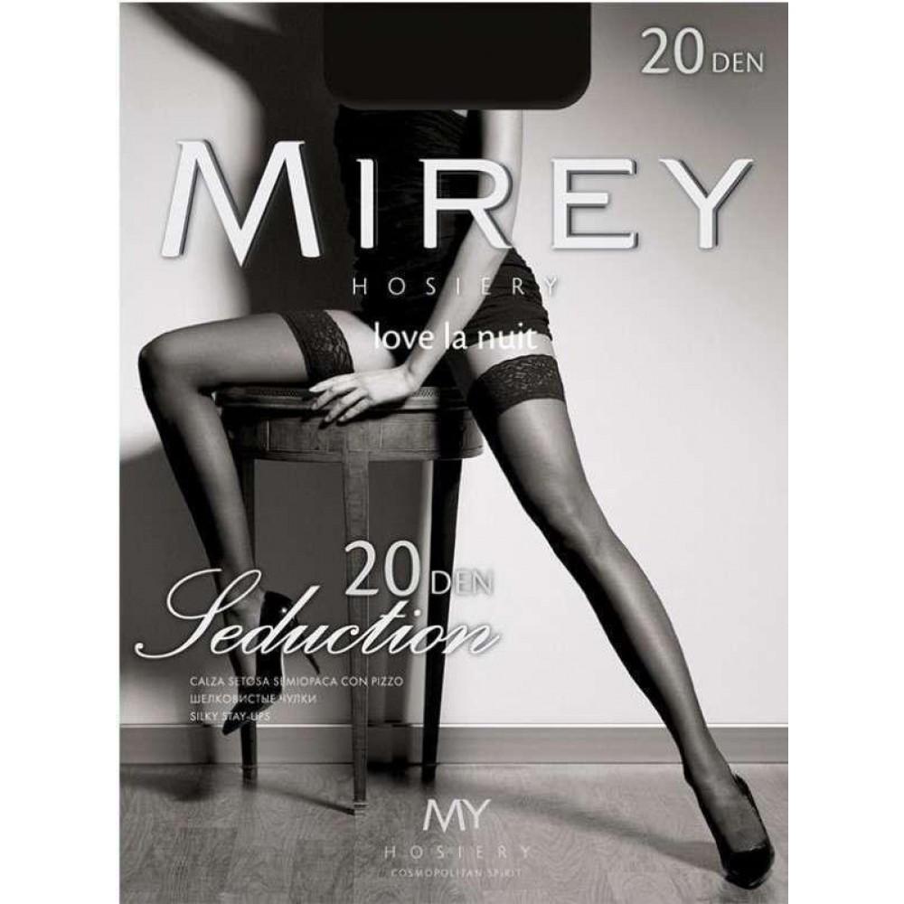Чулки Seduction 20 den Mirey 1/2 XS/S - No Taboo