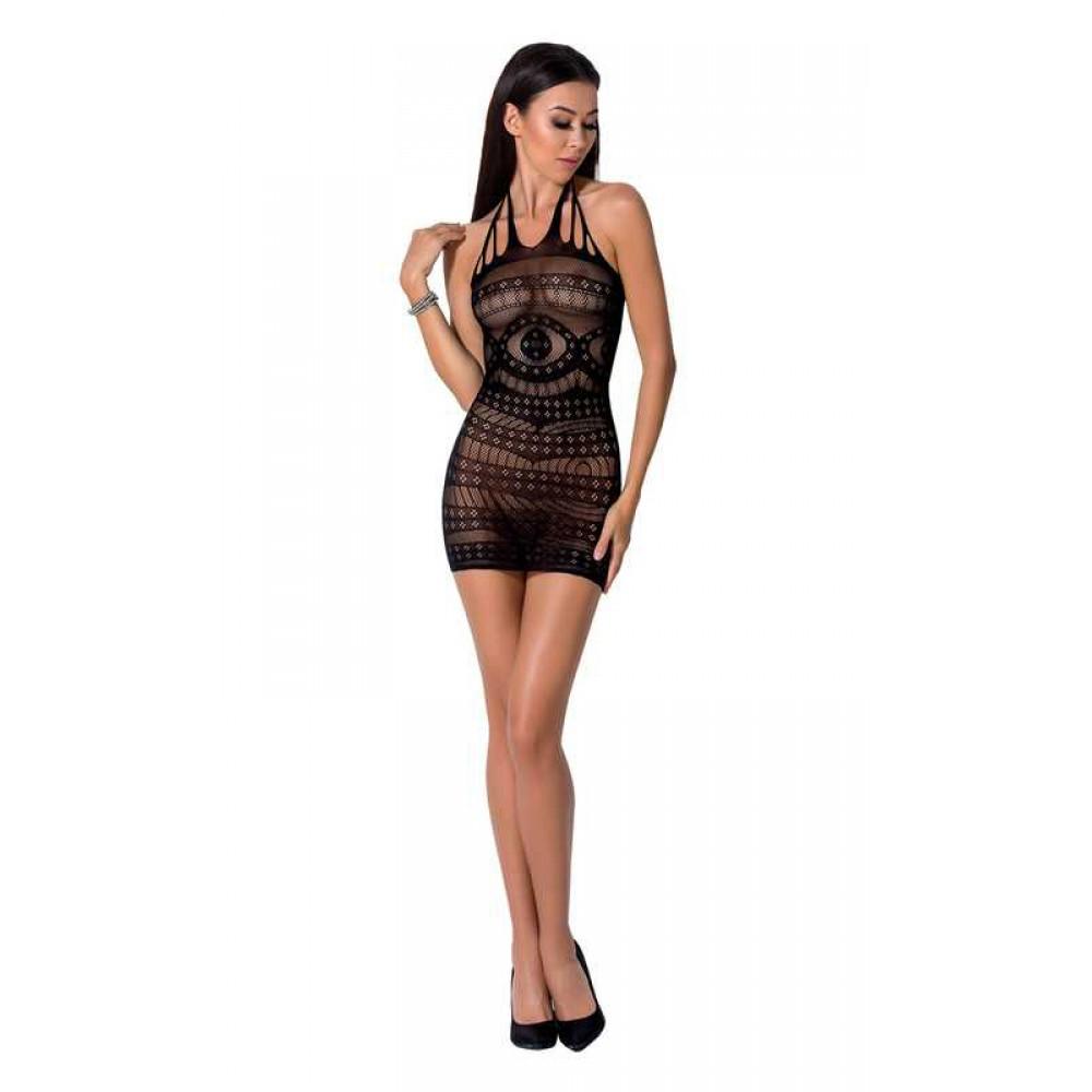 Эффектное платье сетка черное Passion, S/L, фото 1