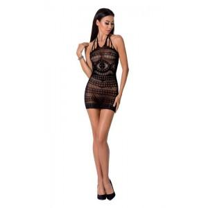 Эффектное платье сетка черное Passion, S/L (32539), zoom