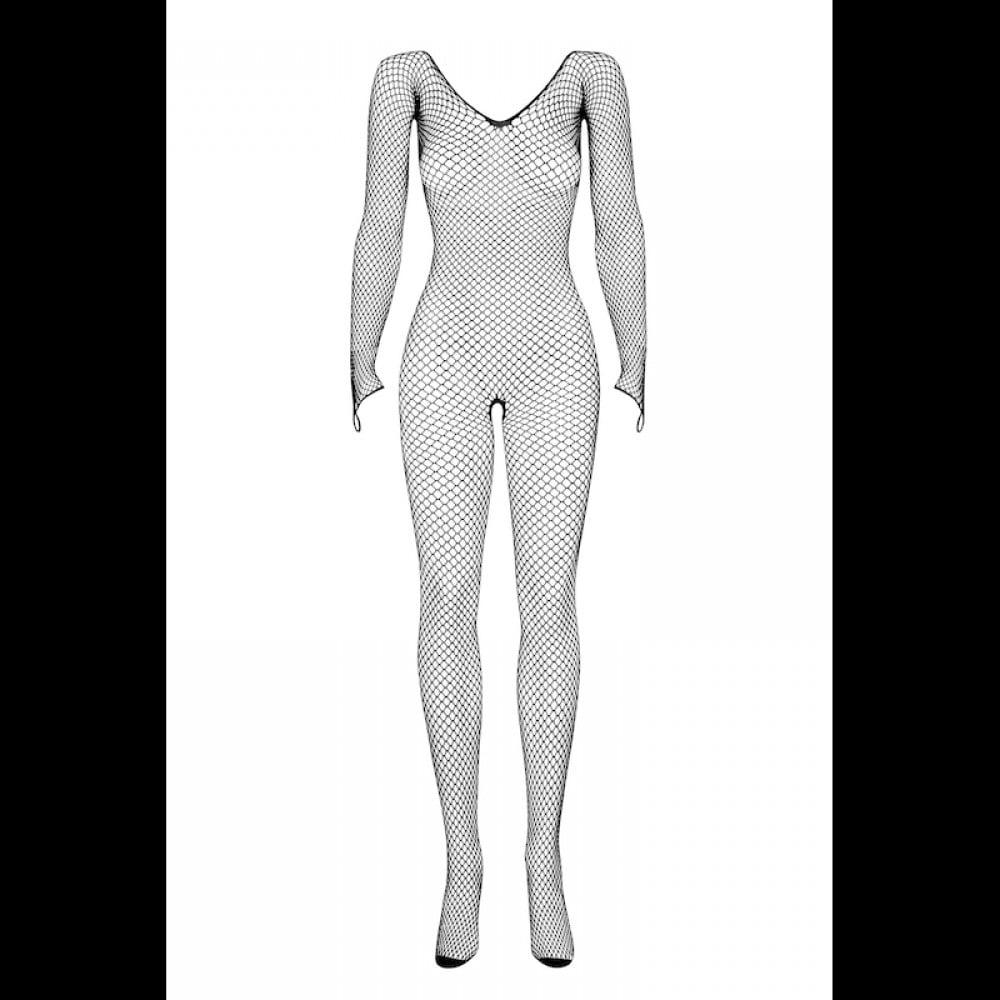 Комбинезон сеточка Obsessive Bodystocking N109, размер S/M, фото 4