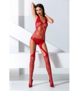 Комбинезон-сетка с геометрическим рисунком red Passion