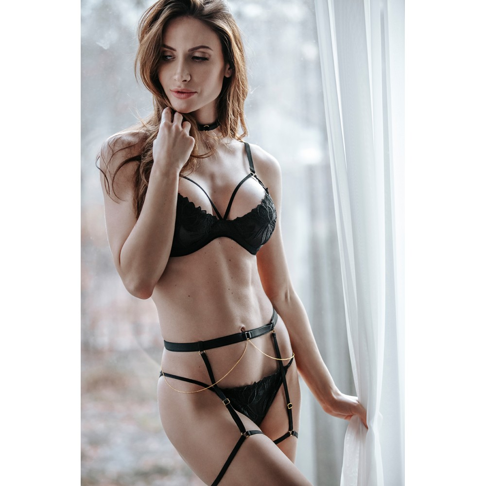 Комплект эротический с вышивкой Magnifique S (34408), фото 1