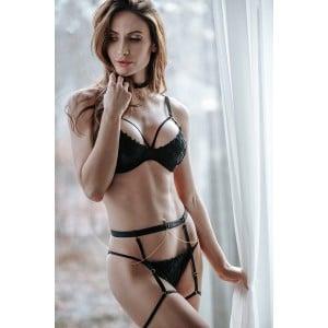 Комплект эротический с вышивкой Magnifique S (34408), zoom