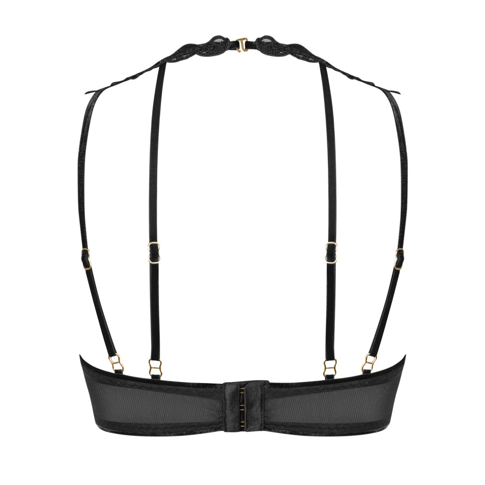 Комплект эротический Noir Handmade с кружевом, размер S (34420)